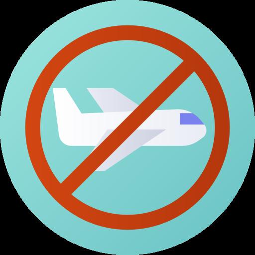 pas de vol  Icône gratuit