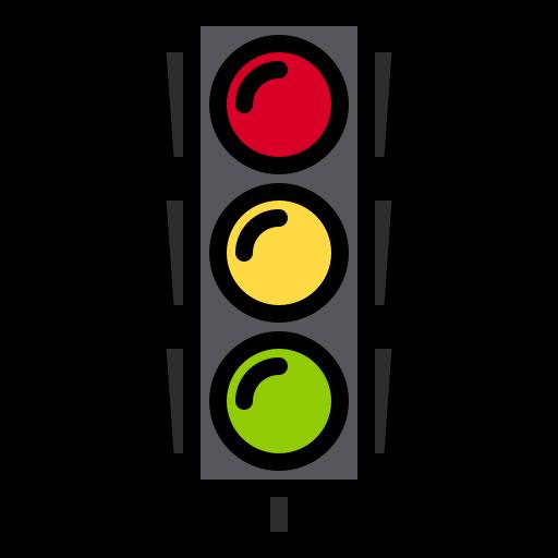 Traffic light  free icon