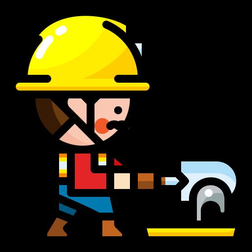 건설 노동자  무료 아이콘