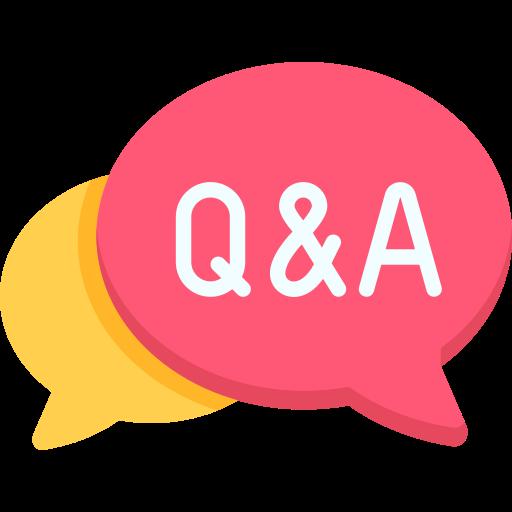 questions et réponses  Icône gratuit