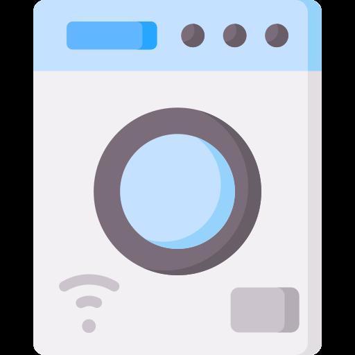 lavadora inteligente icono gratis