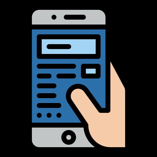 Smartphone  free icon