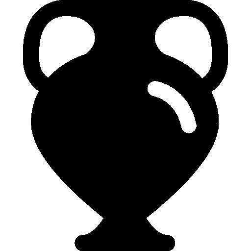 pot avec poignée dans un musée  Icône gratuit