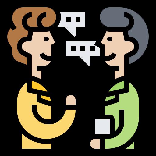 relación  icono gratis