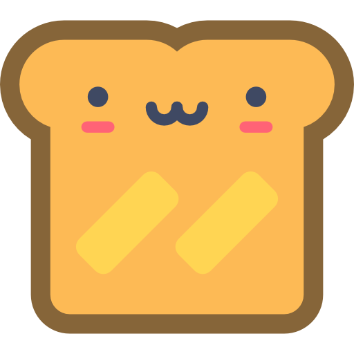 Toast  free icon