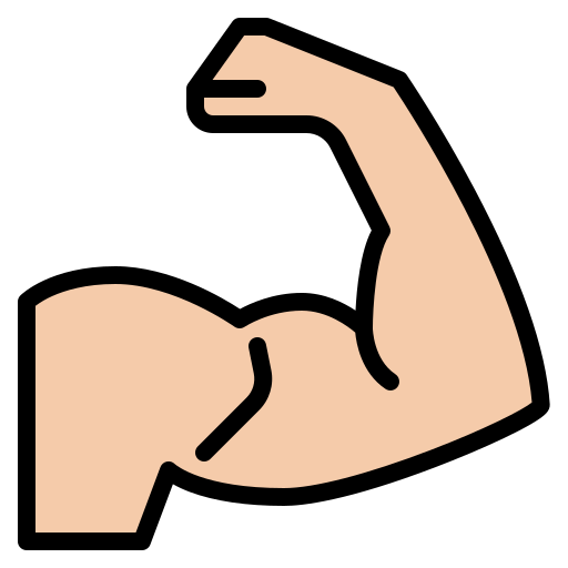 Strong  free icon