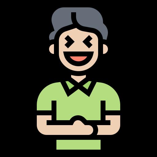Laugh  free icon
