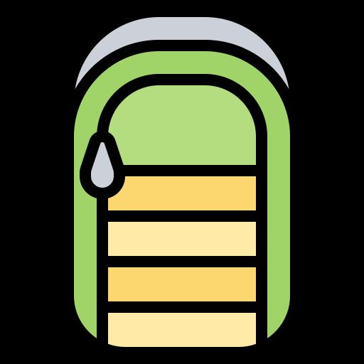 bolsa de dormir  icono gratis