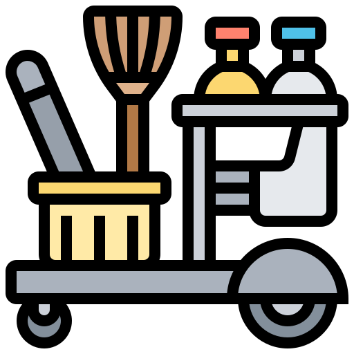 Cleaning tools  free icon
