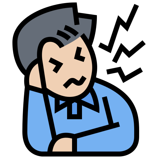 Decreased concentration  free icon