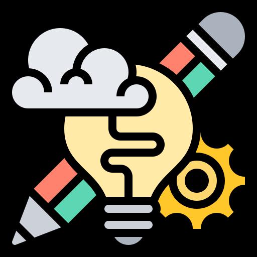 Дизайн-мышление  бесплатно иконка