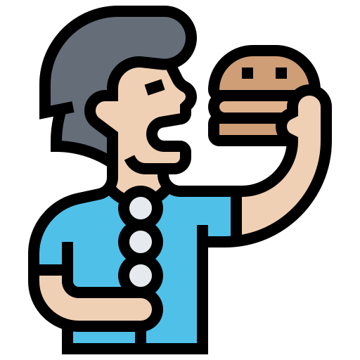 comiendo  icono gratis