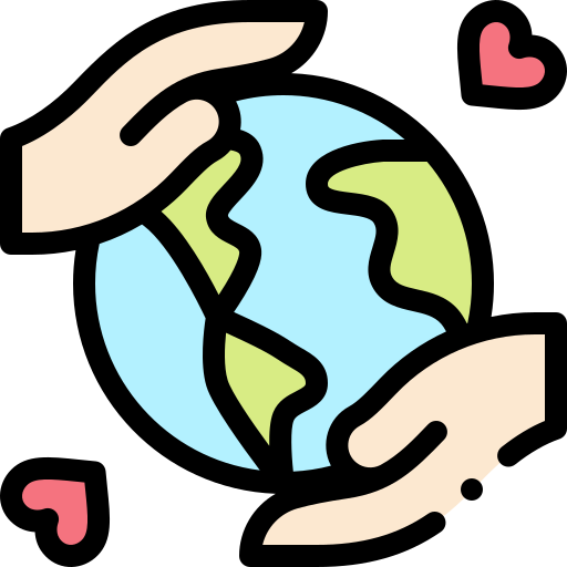 Save the world  free icon