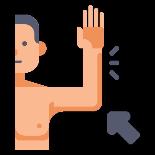 Arm  free icon