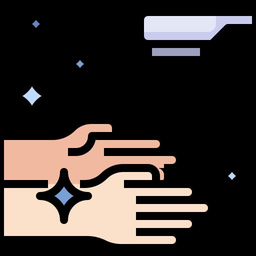lavado a mano  icono gratis
