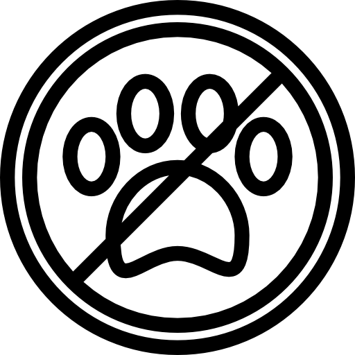 pas d'animaux de compagnie  Icône gratuit
