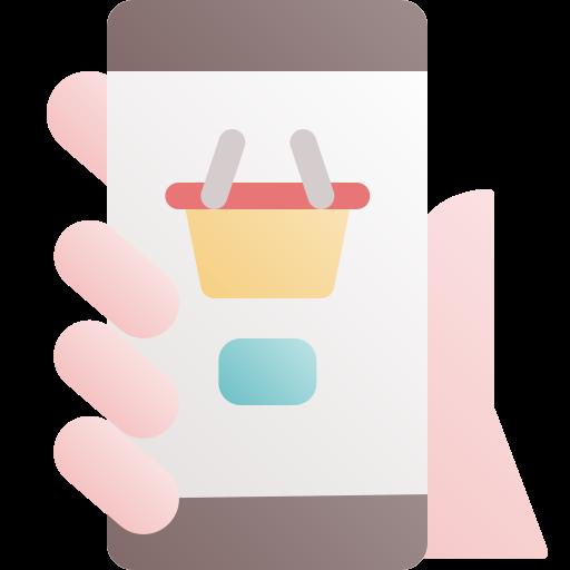 mobiles einkaufen  kostenlos Icon