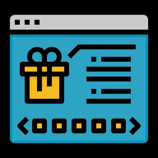 온라인 쇼핑  무료 아이콘