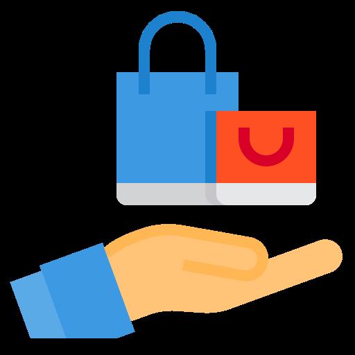 Shopping bag  free icon