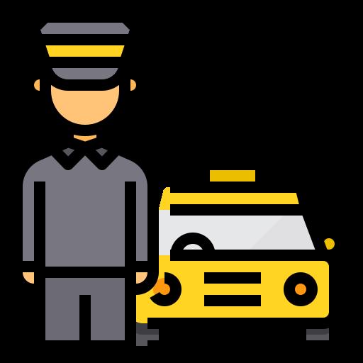 택시 운전사  무료 아이콘