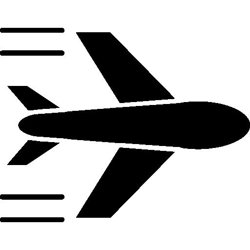 avion volant  Icône gratuit
