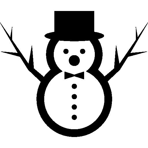 Снеговик  бесплатно иконка