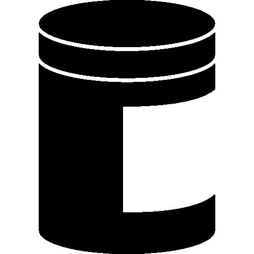 pot avec étiquette blanche  Icône gratuit