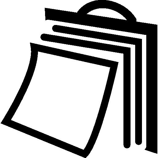 wandkalender blättern seiten  kostenlos Icon