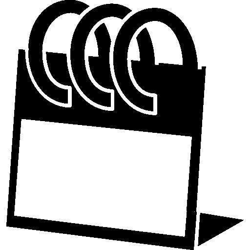 Весенний постоянный календарь  бесплатно иконка