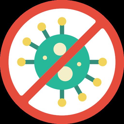 sin virus  icono gratis
