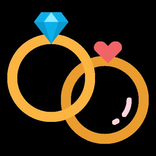 anillos de boda  icono gratis