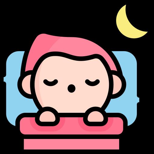 Sleeping  free icon