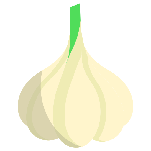 Garlic  free icon