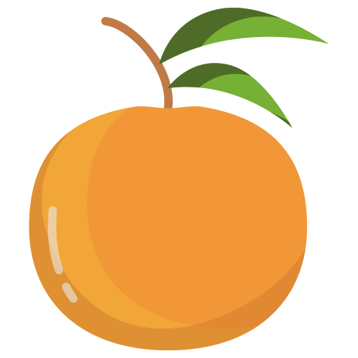 laranja  grátis ícone