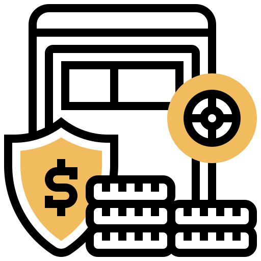 Investment insurance  free icon