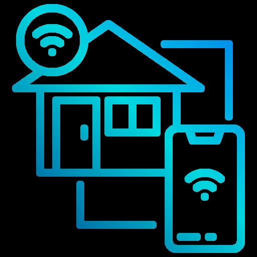 maison intelligente  Icône gratuit