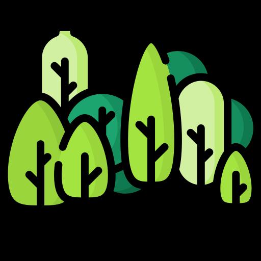 bosque  icono gratis