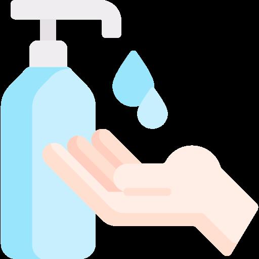 Liquid soap  free icon