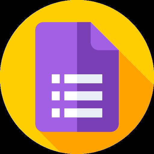 Google forms  free icon