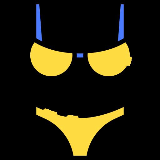 Bikini  free icon