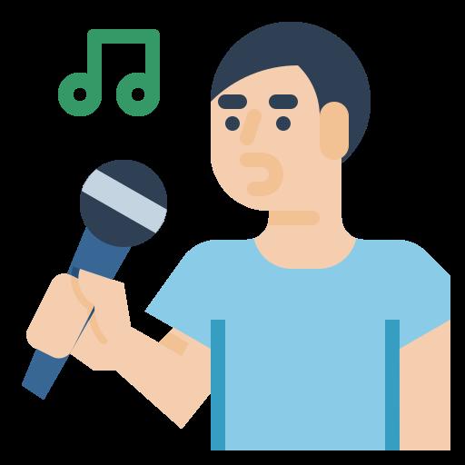 Singer  free icon