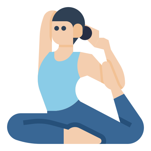 yoga  Icône gratuit