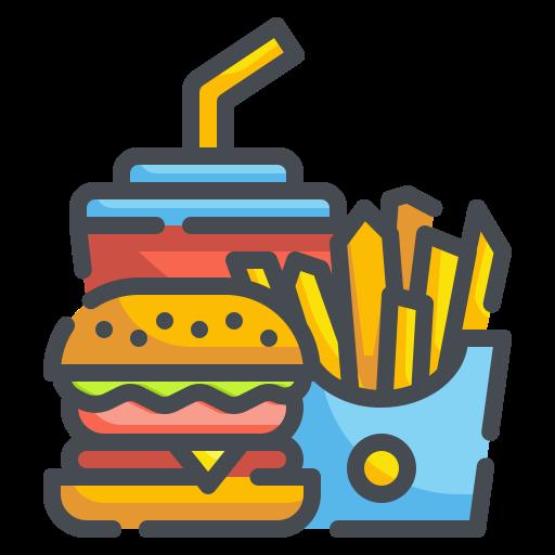 comida rápida  icono gratis