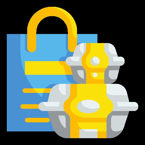 lebensmittelbehälter  kostenlos Icon