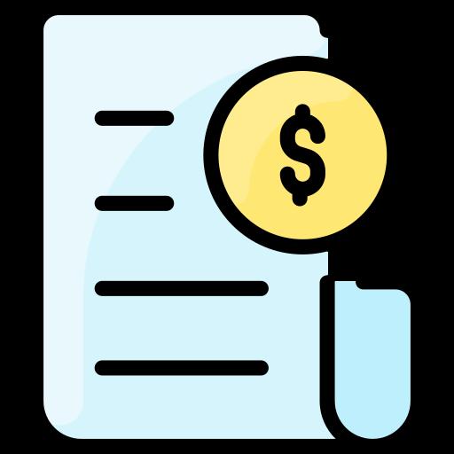 Invoices  free icon