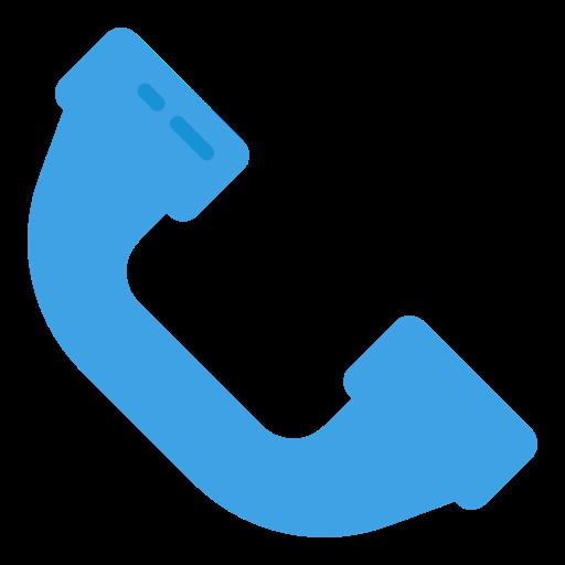 llamada telefónica  icono gratis