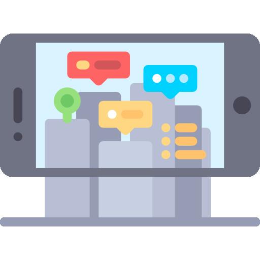 Augmented reality  free icon