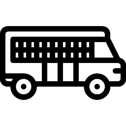 죄수 수송 차량  무료 아이콘