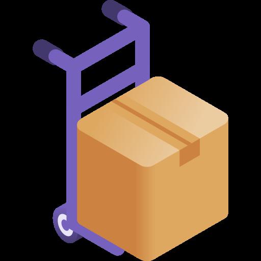 Trolley  free icon