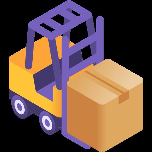 Forklift  free icon